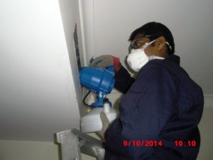 AC during cleaning