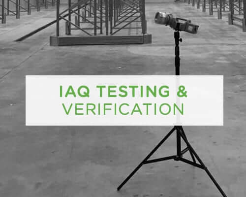 IAQ testing and verification UAE