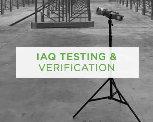 IAQ testing and verification UAE