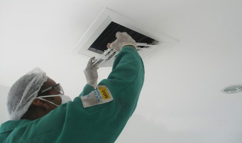 HVAC duct cleaning